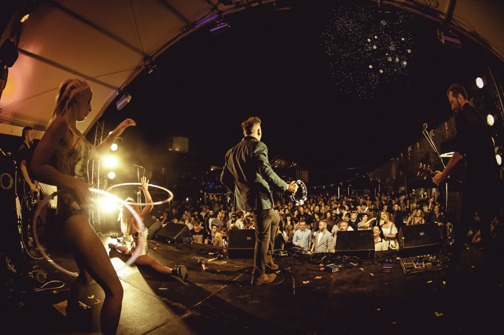 Jerry Fish' Electric Sideshow // Leixlip Festival 2016