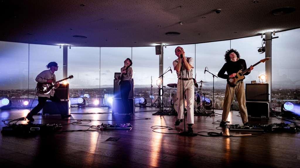 The Murder Capital live in the Guinness Storehouse 2020